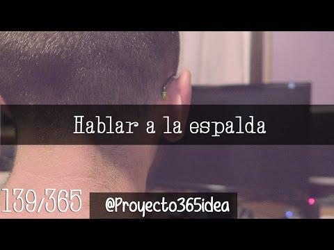 HABLAR A LA ESPALDA 139 (2015)