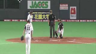 2009日本プロ野球 日本シリーズ2 巨人vs日本ハム 李 Hit.