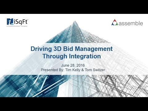 Driving 3D Bid Management Through Integration