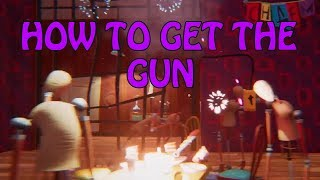 HELLO NEIGHBOR BETA 3 HOW TO GET THE GUN