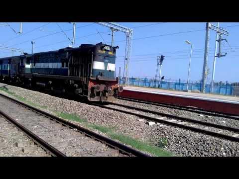 Chandigarh  jaipur express crossing dhappar