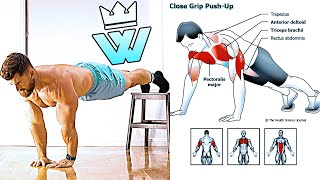 BODYWEIGHT Only Chest/ Triceps/ Legs WORKOUT