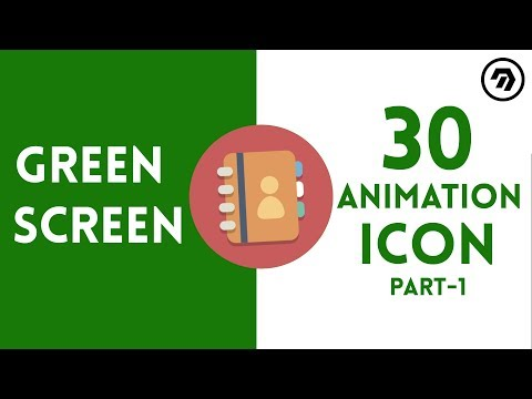 Green Screen Icon Animation Part 1 | mrstheboss