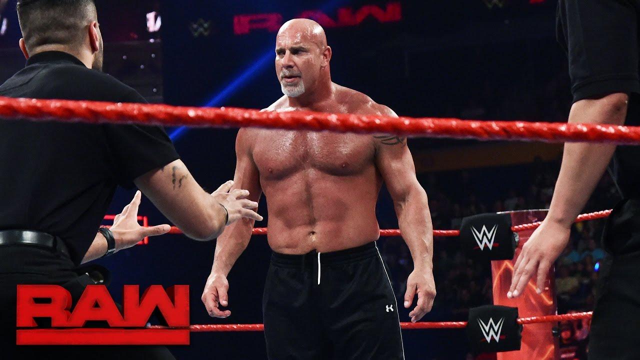 Goldberg And Brock Lesnar Meet Face To Face Before Survivor Series