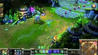league of legends changing angle of view with lolreplay and fraps