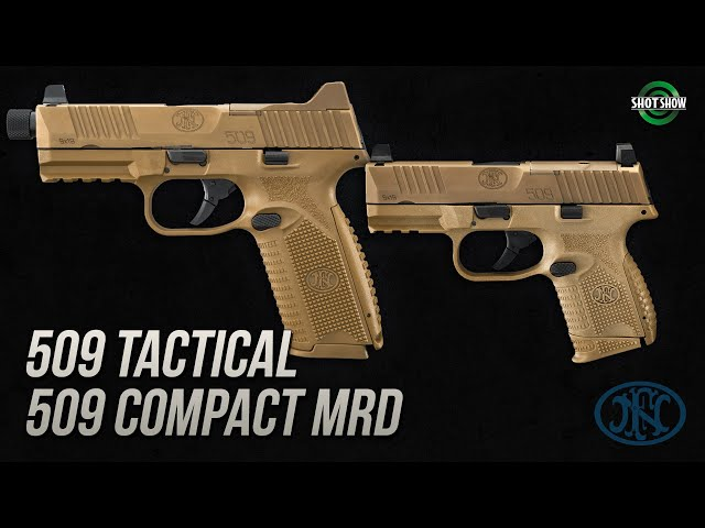 FN 509 Tactical and 509 Compact MRD - SHOT Show 2020