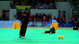 27th SEA GAMES MYANMAR 2013 -  Pecak Silat 13/12/13