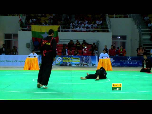 27th SEA GAMES MYANMAR 2013 -  Pecak Silat 13/12/13 Travel Video