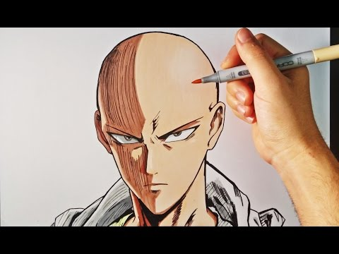 Cómo Dibujar a Saitama (One-Punch Man) | How to draw Saitama One Punch | ArteMaster