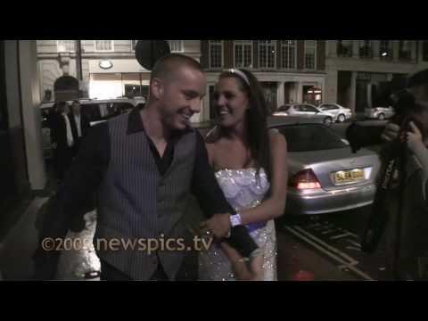 20090411 - Danielle Lloyd and Jamie O'Hara
