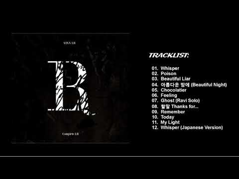 [Full Album] VIXX LR (빅스 LR)- Complete LR - Tracklist