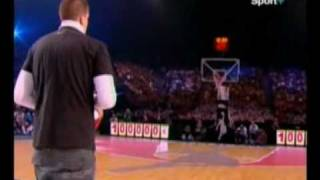 AIR BALL All Star Game Bercy 2008 Shoot à 100000€