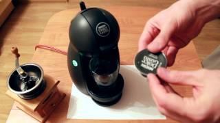 видео кофе капсулах