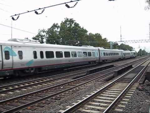 THE FAMOUS  AMTRAK ACELA EXPRESS TRAIN POWER CAR 2035 AS SHOW ON WIKIPEDIA.COM ON THE NEW HAVEN LINE