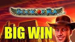 Online slots HUGE WIN 1,5 euro bet - Book of Ra deluxe BIG WIN
