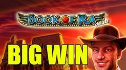 Online slots HUGE WIN 1,5 euro bet - Book of Ra deluxe BIG WIN