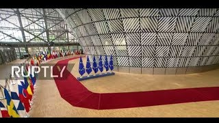 LIVE  EU Council on migration, security and economy in Brussels  arrivals and doorstep
