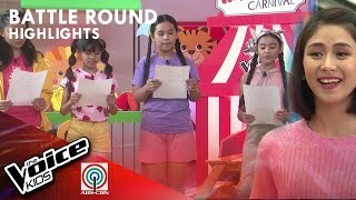 Gaea vs. Riss vs. Jhoana vs. Angel - Team Sarah Mentoring Session | The Voice Kids Philippines 2019