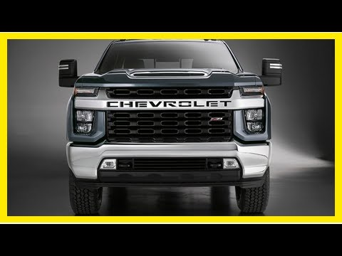 The 2020 Chevrolet Silverado HD shows its face | k production channel