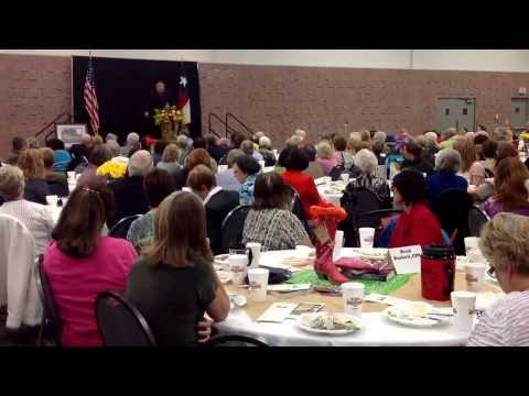 Remarks from Jeff Guinn at the Boots & Books Luncheon