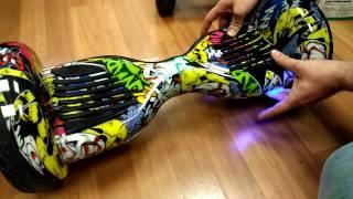 видео купить гироскутер smart balance whell 10 дюймов космос