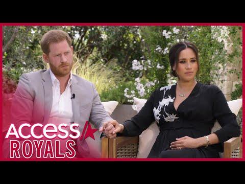 Meghan Markle & Prince Harry's Explosive Oprah Interview Sneak Peek