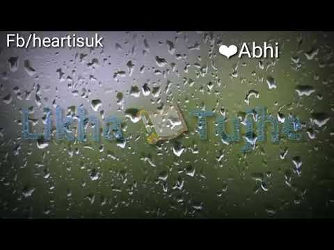 Kabhi Aaina Pe Likha Tujhe || Romantic Love Song ||