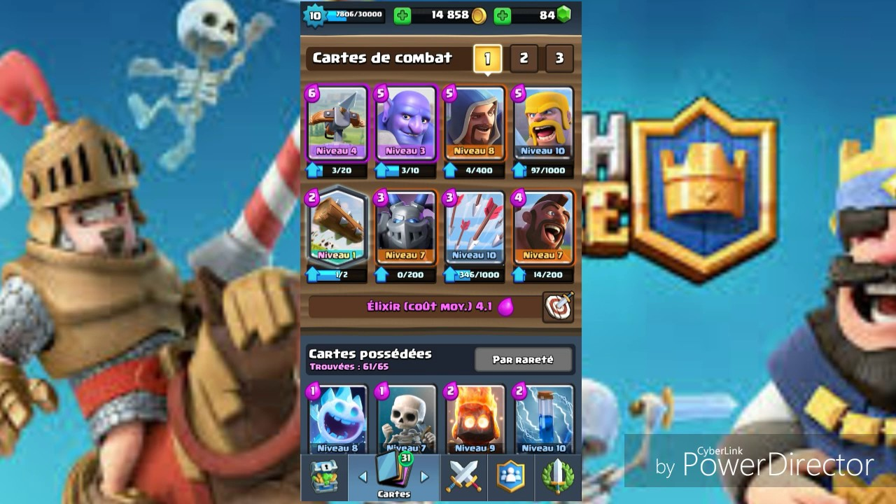Clash royale deck buche extraordinaire youtube for Clash royale deck arc x