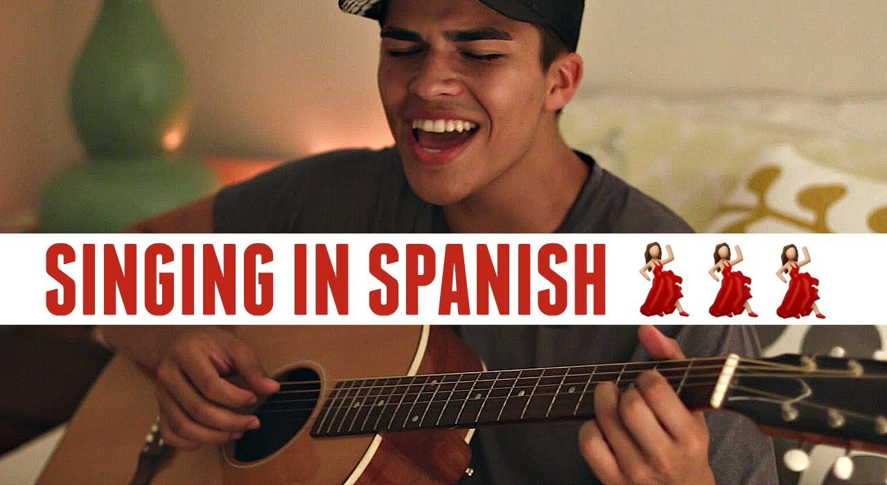 Singing In Spanish Solamente Tï By Pablo Alboràn Cover By Alex Aiono Youtube