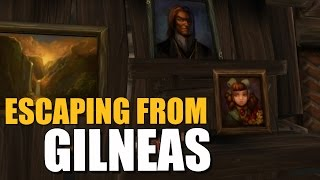 WOW | Escaping From Gilneas in Lv 1 with a Friend Guide! - Reviak
