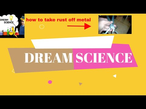 How to Remove Rust with from metal and tools -DIY