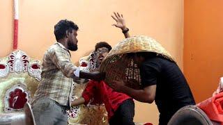 பந்தல் கடையில் பதற்றம் prank | Marriage assemble shop prank | Tamil prank | orange mittai