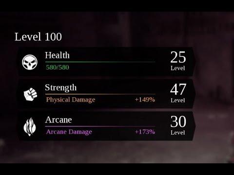 Darksiders 3 - Max level 100