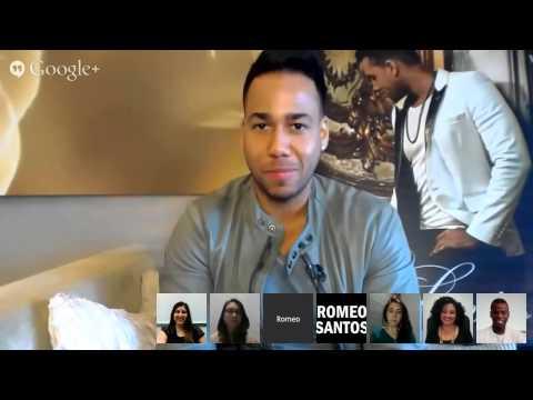 Romeo Santos - Google Hangout Clip