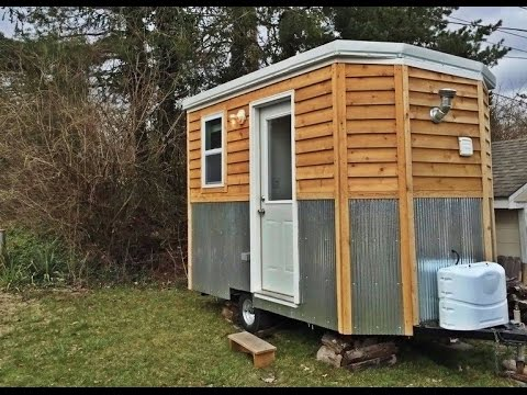 $15,000 Tiny House Means Simple n' Cheap Living