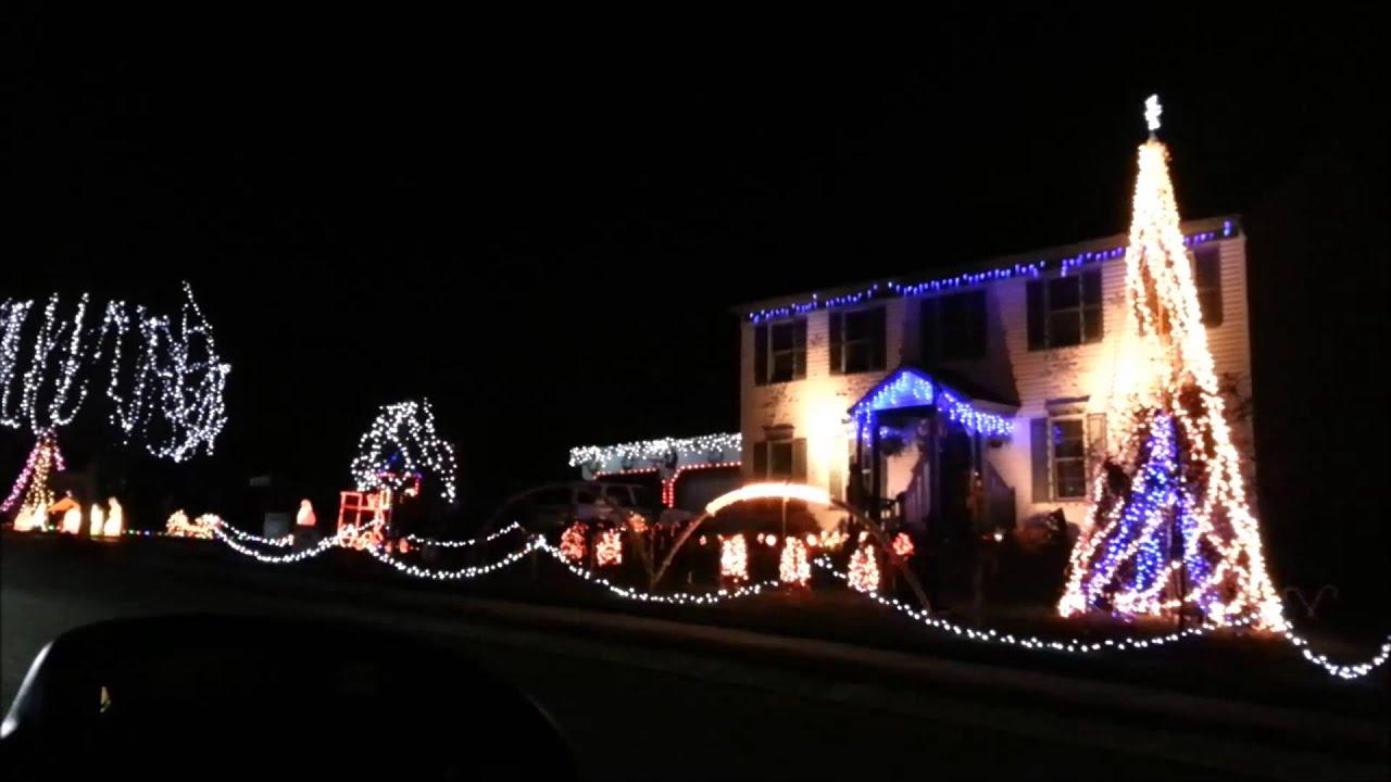 christmas 2012 light show angry birds