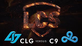 CLG vs C9 | Week 9 | Summer Split 2020 | Counter Logic Gaming vs. Cloud9