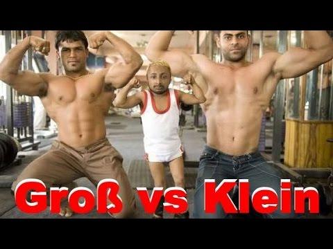 Groß vs. Klein - Wer baut besser Muskeln auf?