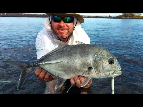 Big Papio Caught Fishing In Hawaii / Catch And Cook Part 1