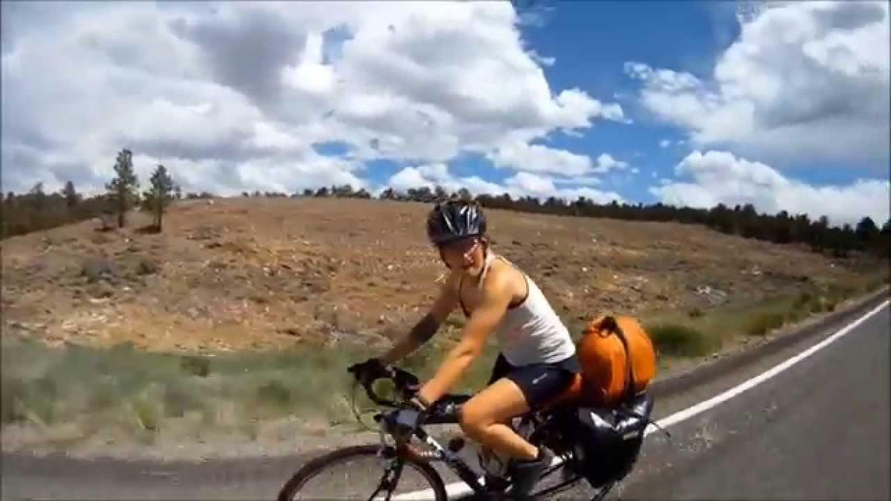 Josh And Nikki Bike Across America Youtube