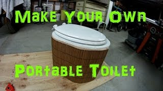 Make Your Own Portable Toilet
