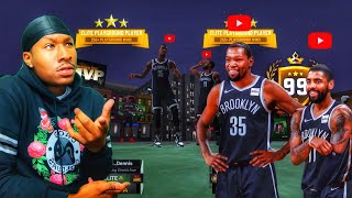 99 Overall Kevin Durant and 99 overall Kyrie on NBA 2K19! Duke Dennis and Lamonsta are DEMIGODS!