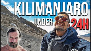 Climbing Mount Kilimanjaro in Record Time (w/ Wim Hof Method)