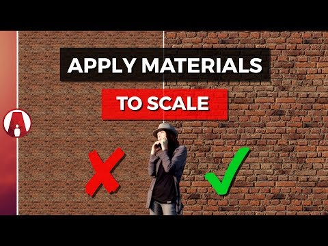 How to Apply Materials to SCALE | Vray 3.4 for Sketchup