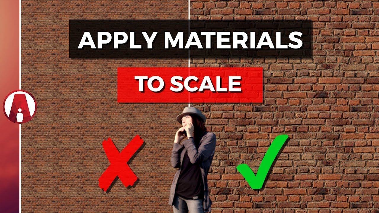 How to Apply Materials to SCALE | Vray for Sketchup