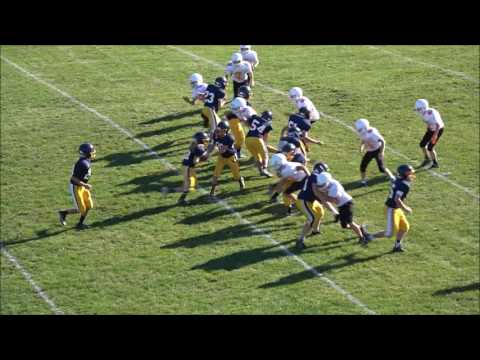 10/04/2016 Kirtland Middle School Football vs Chagrin Falls Middle School