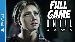 Until Dawn Gameplay Walkthrough Part 1 Review Full Let's Play Playthrough 1080p