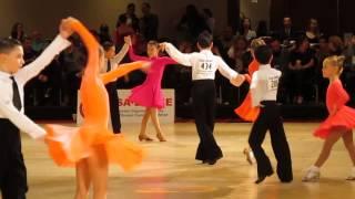 USA Ballroom Dance National Competition 2014, Eric Shprints and Anna Kotelnikov