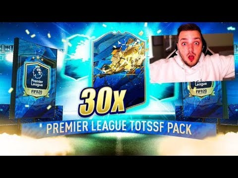 30 GUARANTEED TOTS PREMIER LEAGUE PACKS! FIFA 20 ULTIMATE TEAM