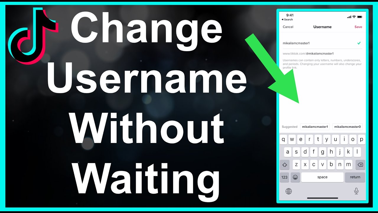 How To Change Tiktok Username Without Waiting 30 Days Youtube